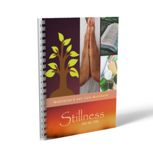 stillness and me-time digital workbook